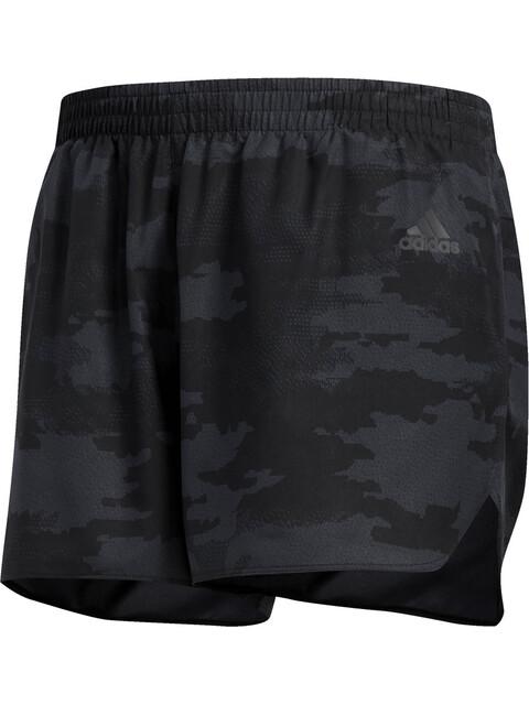 adidas Response - Pantalones cortos running Hombre - gris/negro